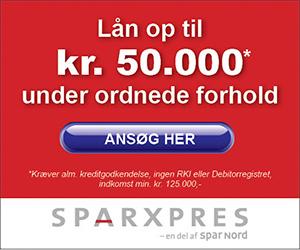 SparXpres lån op til 50000