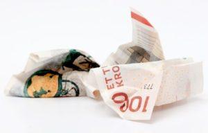 nordisk lån sedler
