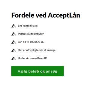 AcceptLån
