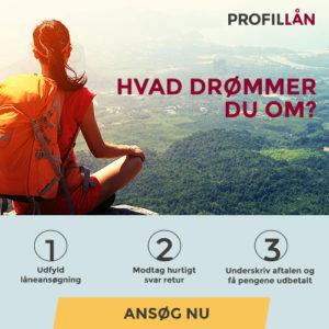 Profil Lån - Hvad drømmer du om?