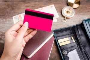 kreditkort rød