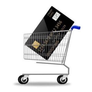 Kreditkort sort
