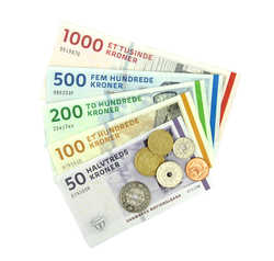 Trustbuddy.dk penge sedler mønter