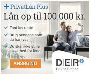 DER Privat Finans - Lån op til 100.000 kr.