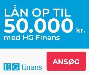 HG Finans - Lån op til 50.000 kr.