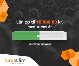 Turbolån - lån op til 10000 kr.