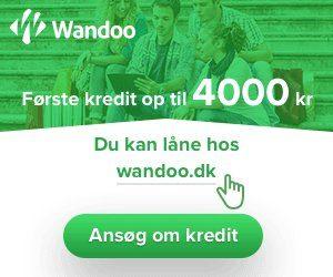 Wandoo lån op til 4000 kr.