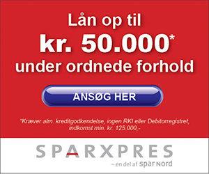 Sparxpres Bank lån 50000 kr